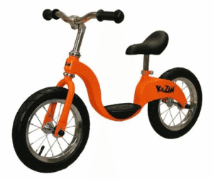 kazam balance bike orange