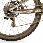 imag of muddy chainstay