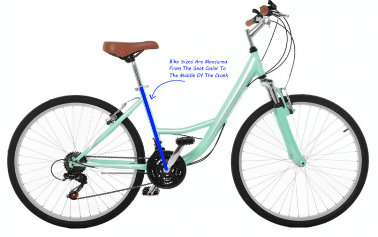how comfort bikes are sized