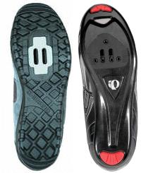 road shoes vs mountain bike shoes