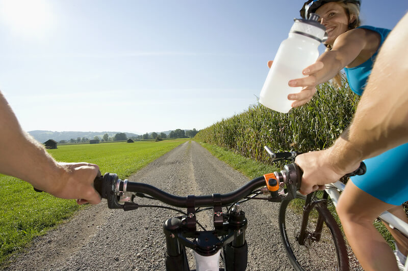 The Performance Enhancing Effects Of Drinking Cold Water