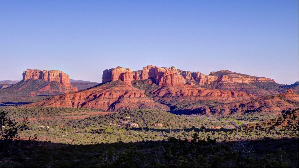 Red Rocks in Sedona, Arizona, another of America's great destinations to bike